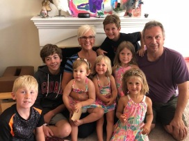 with grandkids 2018